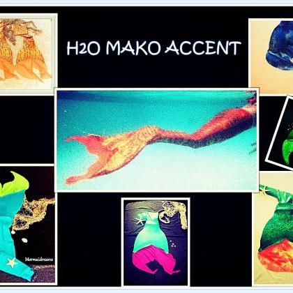 MERMAID TAIL H2O MAKO EDITION. BEST..