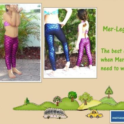 LEGGINS FOR MERMAID LOVERS. MADE TO..