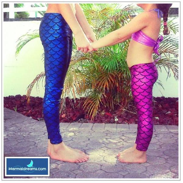 LEGGINS FOR MERMAID LOVERS. MADE TO ORDER JUST FOR YOU. BEST QUALITY MADE IN U.S.A